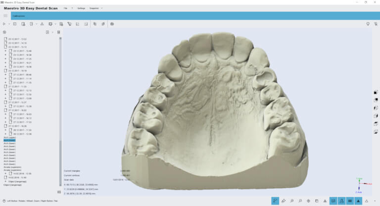 maestro 3d easy dental scan software